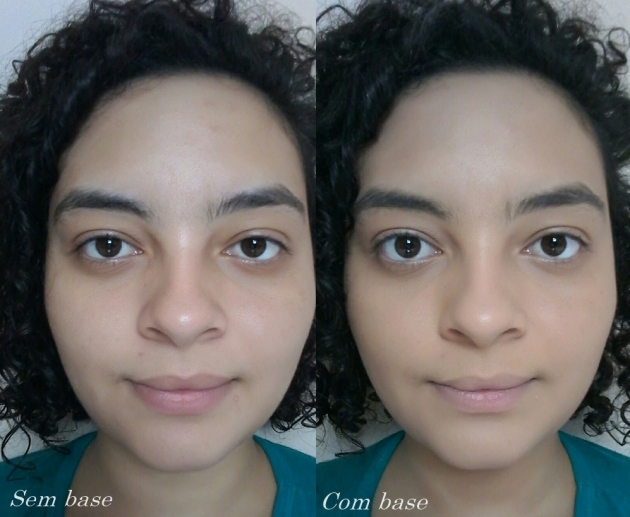 antes e depois base natura una